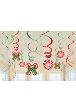 Candy Cane Value Pack Foil Swirl (12)