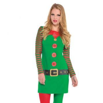 Elf Long Sleeve Dress L/XL