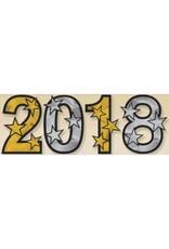 2018 Foil Cutouts - Black, Silver, Gold