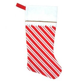 Candy Cane - Felt Stocking