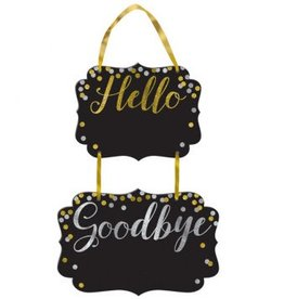 Hello, Goodbye Chalkboard
