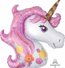 "Magical Unicorn 33"" Mylar Balloon"