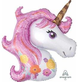"""Magical Unicorn 33"""" Mylar Balloon"""