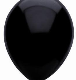 Funsational Crystal Black Balloons (50)