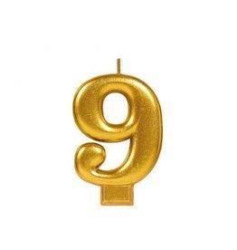 #9 Metallic Candle Gold