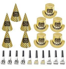 Golden New Year Kit for 10