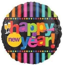 Happy New Year Mylar Balloon