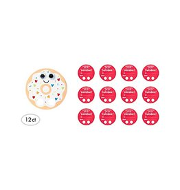 Donut Finger Walker Valentines Cards