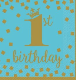 1st Birthday Boy Luncheon Napkins (16)