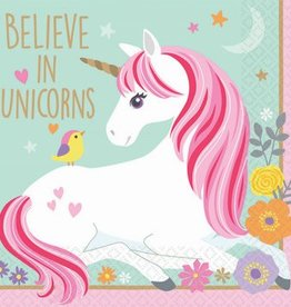 Magical Unicorn Beverage Napkins (16)