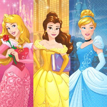 ©Disney Princess Dream Big Luncheon Napkins (16)