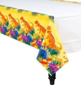 Prehistoric Dinosaurs Paper Tablecover