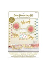 Confetti Fun Room Decorating Kit