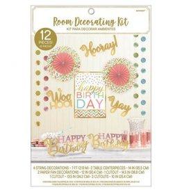Confetti Fun Room Decorating Kit