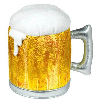 Frothy Beer Mug Hat