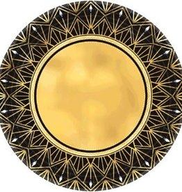 "Glitz & Glam Metallic Round Plates, 7"" (8)"