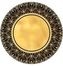 "Glitz & Glam Metallic Round Plates, 10 1/2"" (8)"