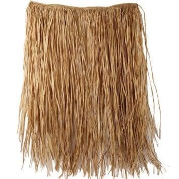 Adult XL Natural Grass Hula Skirt