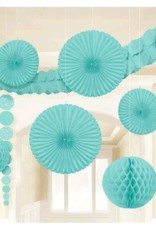 Damask Wedding Decorating Kit-Robin's Egg Blue