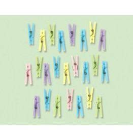 Baby Shower Clothespins - Neutral (24)