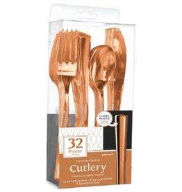 Premium Cutlery Assorted Rose Gold (32)