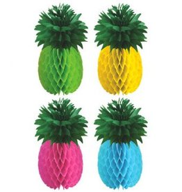 Pineapple Honeycomb Centerpieces (4)