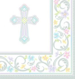 Blessed Day Beverage Napkins (36)