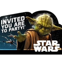 Star Wars™ Classic Postcard Invitations