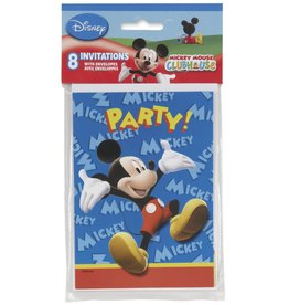 Mickey Mouse Invitations (8)