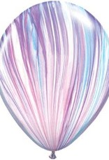 "11"" Printed Fashion Superagate Balloon 1 Dozen Uninflated"
