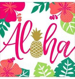 Aloha Luncheon Napkins (16)