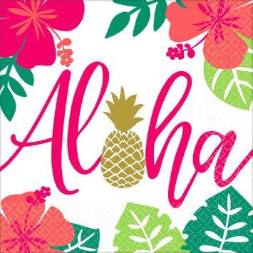 Aloha Luncheon Napkins