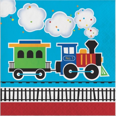 All Aboard Lunch Napkin (16)