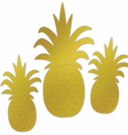 Foil Pineapple Silhouettes (2 Sided)