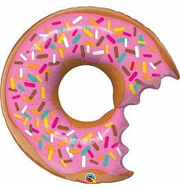 """Bit Donut & Sprinkle 36"""" Mylar Balloon"""