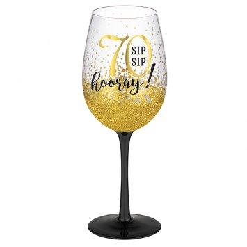 """""""70"""" Wine Glass"""