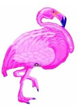 "Flamingo Beach 35"" Mylar Balloon"