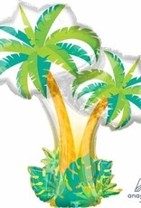 "Tropical Palm Trees 30"" Mylar Balloon"