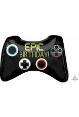 "Epic Party Game Controller 28"" Mylar Balloon"
