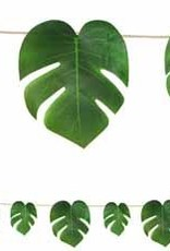 Tropical Palm Leaves Banner 9'