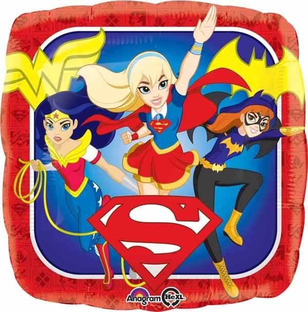 "DC Super Hero Girls 18"" Mylar Balloon"
