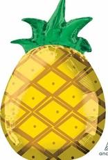 "Mylar Tropical Pineapple 18"" Balloon"