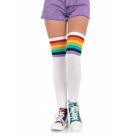 Over The Rainbow Thigh High Stockings
