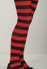 Red & Black Pantyhose (Child Size)