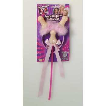 Penis Headband and Wand Set