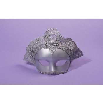 Silver Royal Eyemask