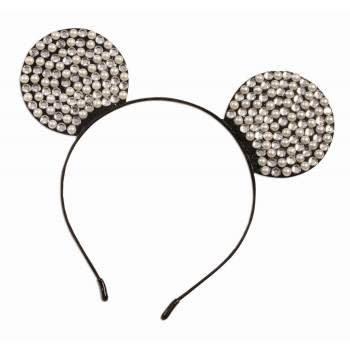 Rhinestone & Pearl Mouse Ears