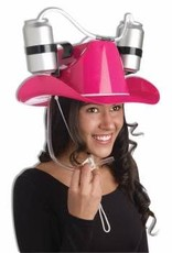 Pink Cowgirl Drinking Helmet