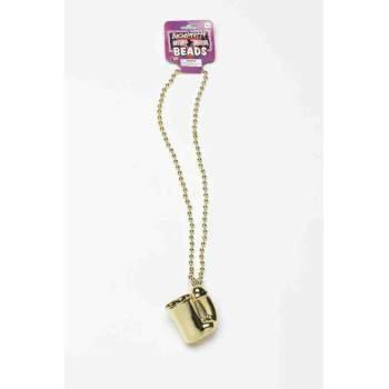 Gold Penis Shotglass Necklace