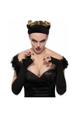 Black Cat Velvet Headband